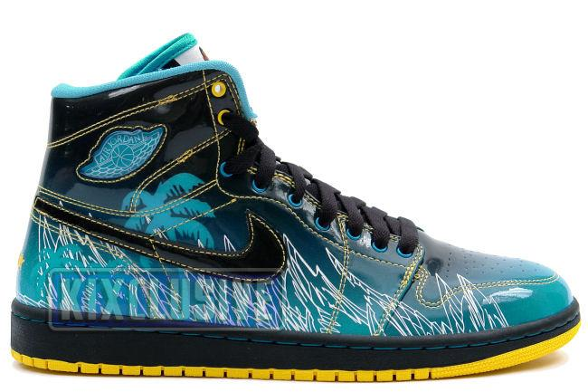 Air Jordan 1 Retro Doernbecher Black / Blue