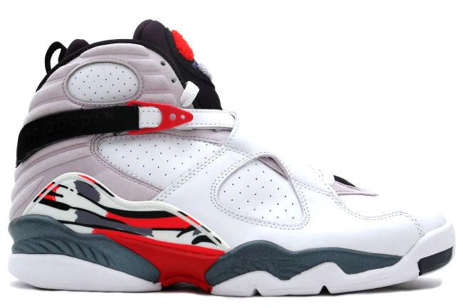 Air Jordan 8 Retro 2003 White / Black / Red