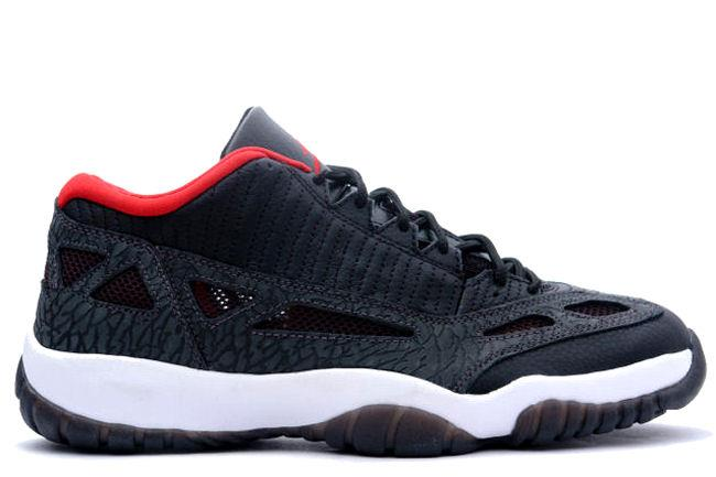 Air Jordan 11 Retro Low IE 2011 Black / Red