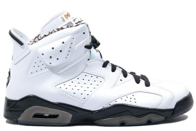 Air Jordan 6 Retro Motorsport White / Black