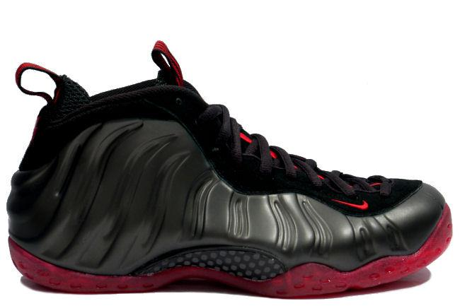 Nike Air Foamposite One Coughdrop Black / Red