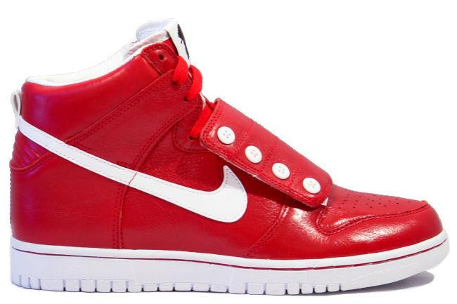 Nike Dunk High Strap ?uestlove Red