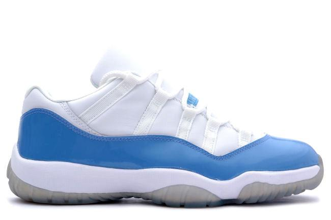 Air Jordan 11 Retro Low White / Columbia Blue