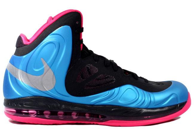 Nike Air Max Hyperposite Blue / Silver / Fireberry