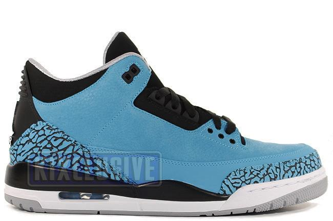 Air Jordan 3 Retro Powder Blue