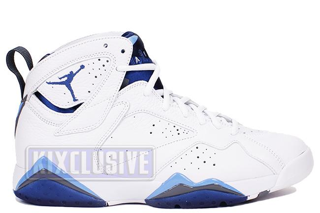 Air Jordan 7 Retro 2015 White / French Blue