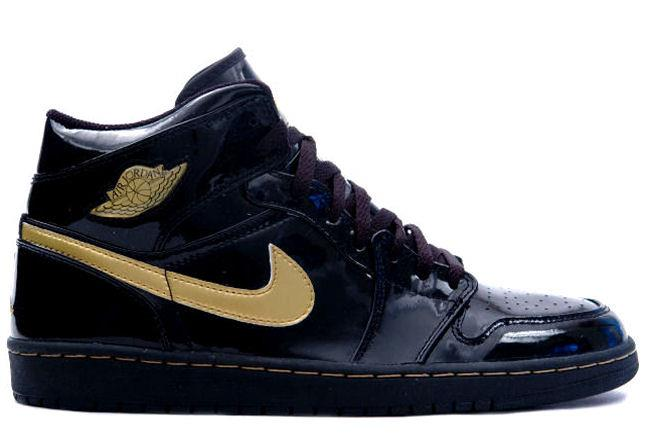 Air Jordan 1 Retro (Patent) Black / Gold
