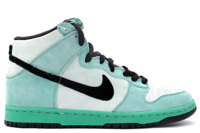 Nike SB Dunk High 'Sea Crystal'