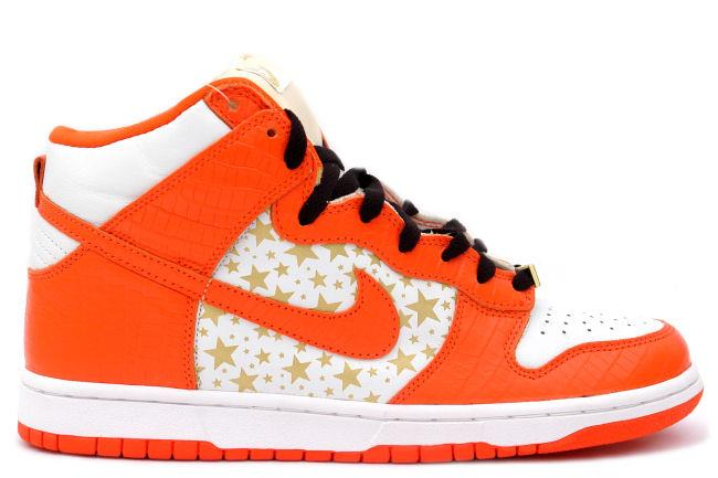 Nike SB Dunk High 'Supreme' Orange