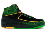Air Jordan 2 Retro Doernbecher Black / Green