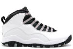 Air Jordan 10 Retro 2005 White / Steel