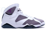 Air Jordan 7 Retro White / Varsity Purple / Flint Grey
