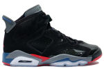 Air Jordan 6 Retro Pistons Black / Red / Blue