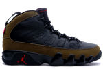 Air Jordan 9 Retro 2002 Black / Olive