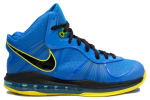 Nike Lebron 8 V2 Entourage Blue / Yellow