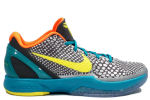 Nike Zoom Kobe 6 Grey / Yellow / Glass Blue