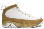 Air Jordan 9 Retro Premio Bin23 White / Gold