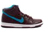 Nike SB Dunk High Burgundy / Aquamarine