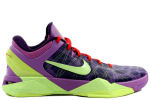 Nike Zoom Kobe 7 Supreme 'Christmas' Purple / Green