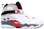 Air Jordan 8 Retro 2013 White / Black / Red