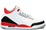 Air Jordan 3 Retro 2013 White / Fire Red