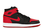 Air Jordan 1 Retro High OG BG Black / Red
