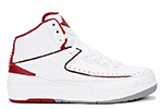 Air Jordan 2 Retro White / Varsity Red
