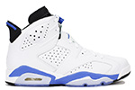 Air Jordan 6 Retro White / Sport Blue