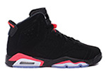 Air Jordan 6 Retro BG Black / Infrared 23