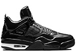 Air Jordan 4 11Lab4 Black Patent