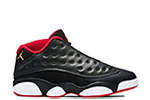 Air Jordan 13 Retro Low BG Black / Red