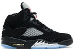 Air Jordan 5 Retro OG Black / Metallic (Nike Air)