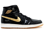 Air Jordan 1 Retro High OG Black / Metallic Gold
