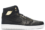 Air Jordan 1 Pinnacle Black Gold