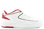 Air Jordan 2 Low Chicago 2004 White Black Red