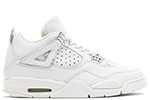 Air Jordan 4 Retro + White Chrome Bling 2000