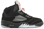 Air Jordan 5 Retro Black Metallic Silver 2000