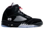 Air Jordan 5 Retro 2011 Black / Silver / Red