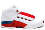 Air Jordan 17 White / Varsity Red