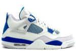 Air Jordan 4 Retro 2006 White / Military Blue