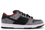 Nike SB Dunk Low 'Supreme' Black / Cement