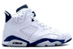 Air Jordan 6 Retro White / Midnight Navy