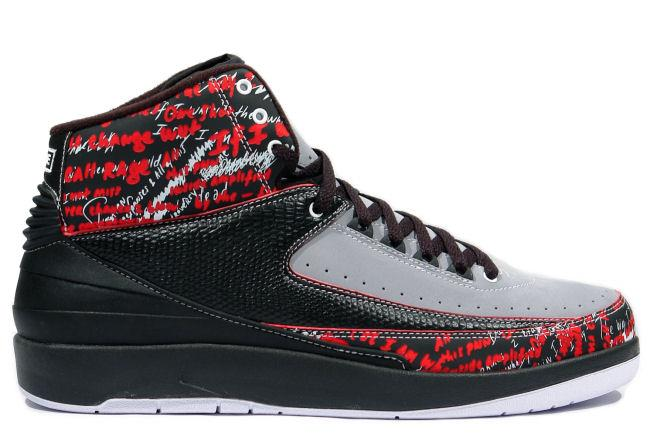 Air Jordan 2 Retro Eminem Black / Stealth