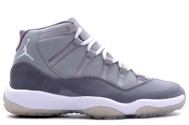 Air Jordan 11 Retro 2001 Cool Grey