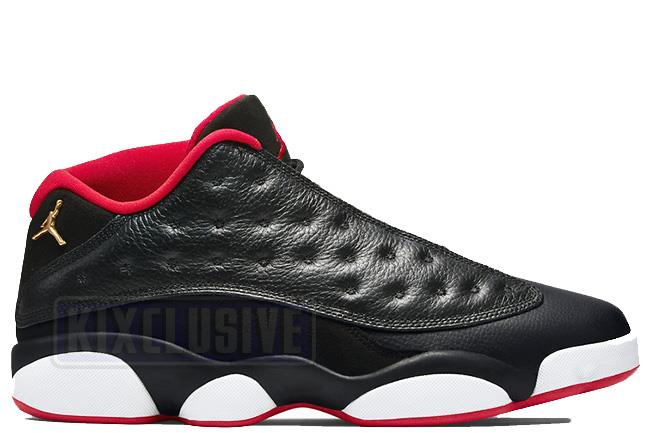 Air Jordan 13 Retro Low Black / Red