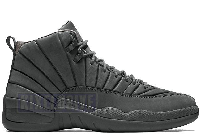 Air Jordan 12 Retro PSNY Dark Grey