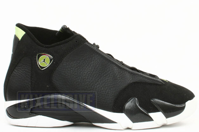Air Jordan 14 OG Black Indiglo