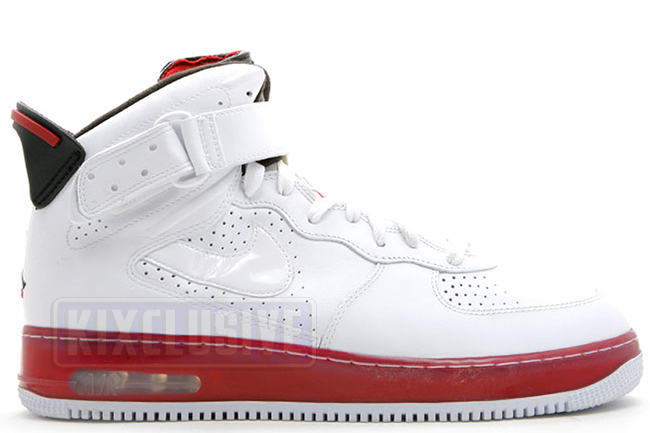 Air Jordan AJF6 White Black Red