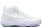 Air Jordan 11 Retro 25th Anniversary White / Silver