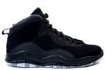 Air Jordan 10 Retro Black / White / Stealth